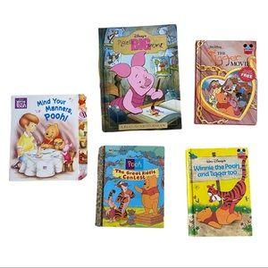 Winnie The Book Book Lot